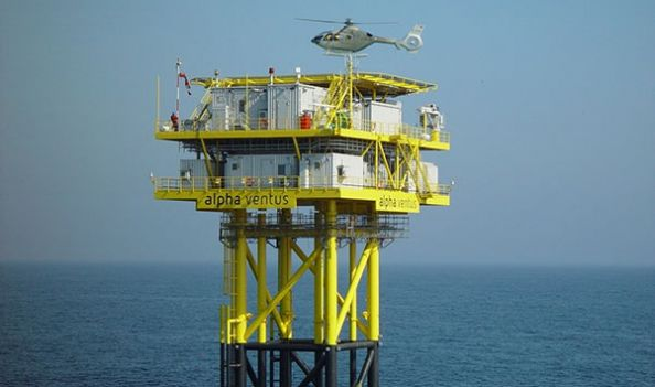 Offshore-Helideck